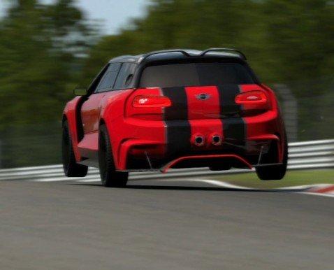 Gran Turismo 6 MINI Clubman Vision GT @ Nordschleife Sub 7:00
