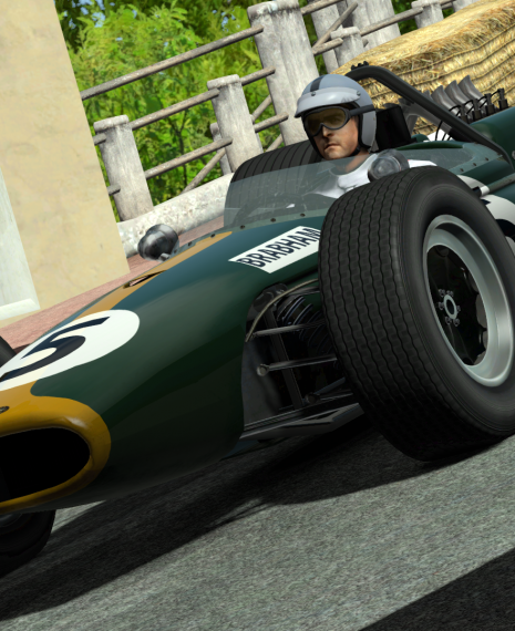 rFactor 2: V1.6 of 1966 Brabham-Repco BT20 Out Now