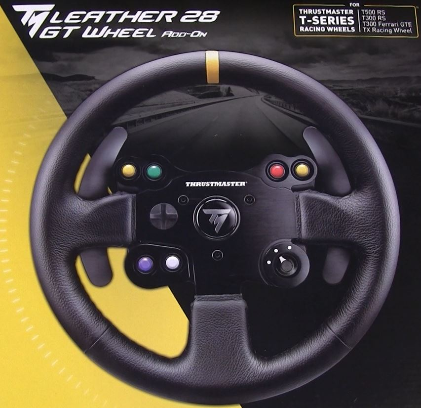 Thrustmaster TM 28 Leather GT Rim Unveiled