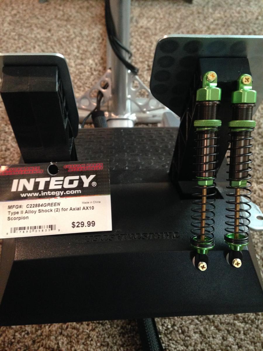 Diy Thrustmaster Tx Or T300 Rc Shock Brake Mod Inside
