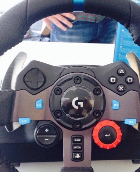 New Logitech Wheel?
