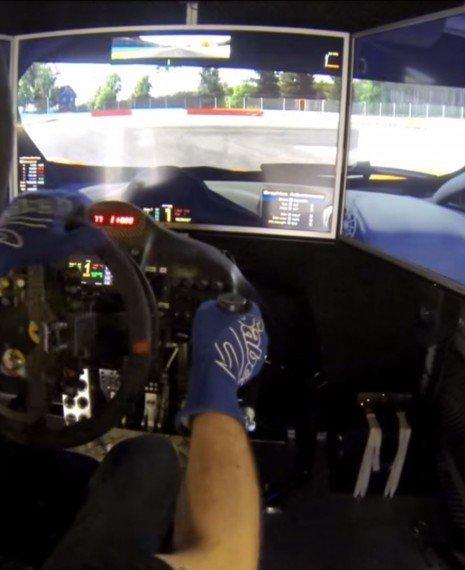 Simatok Paraplegic Sim Racing System