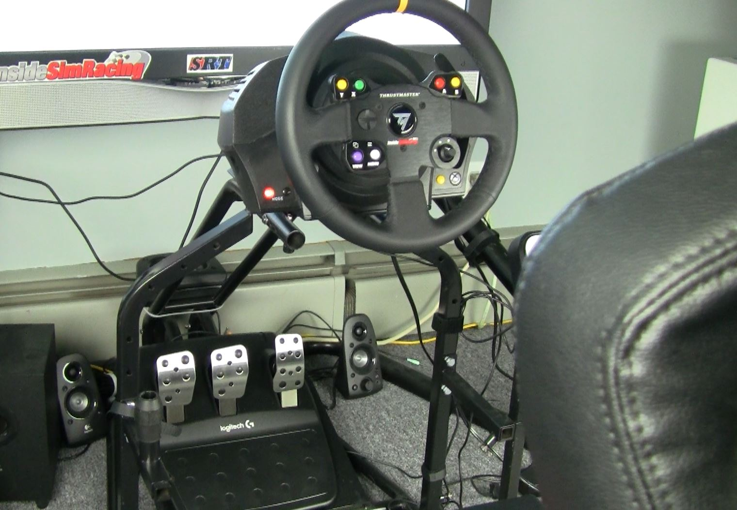 How To: Logitech Pedals with Thrustmaster Wheels