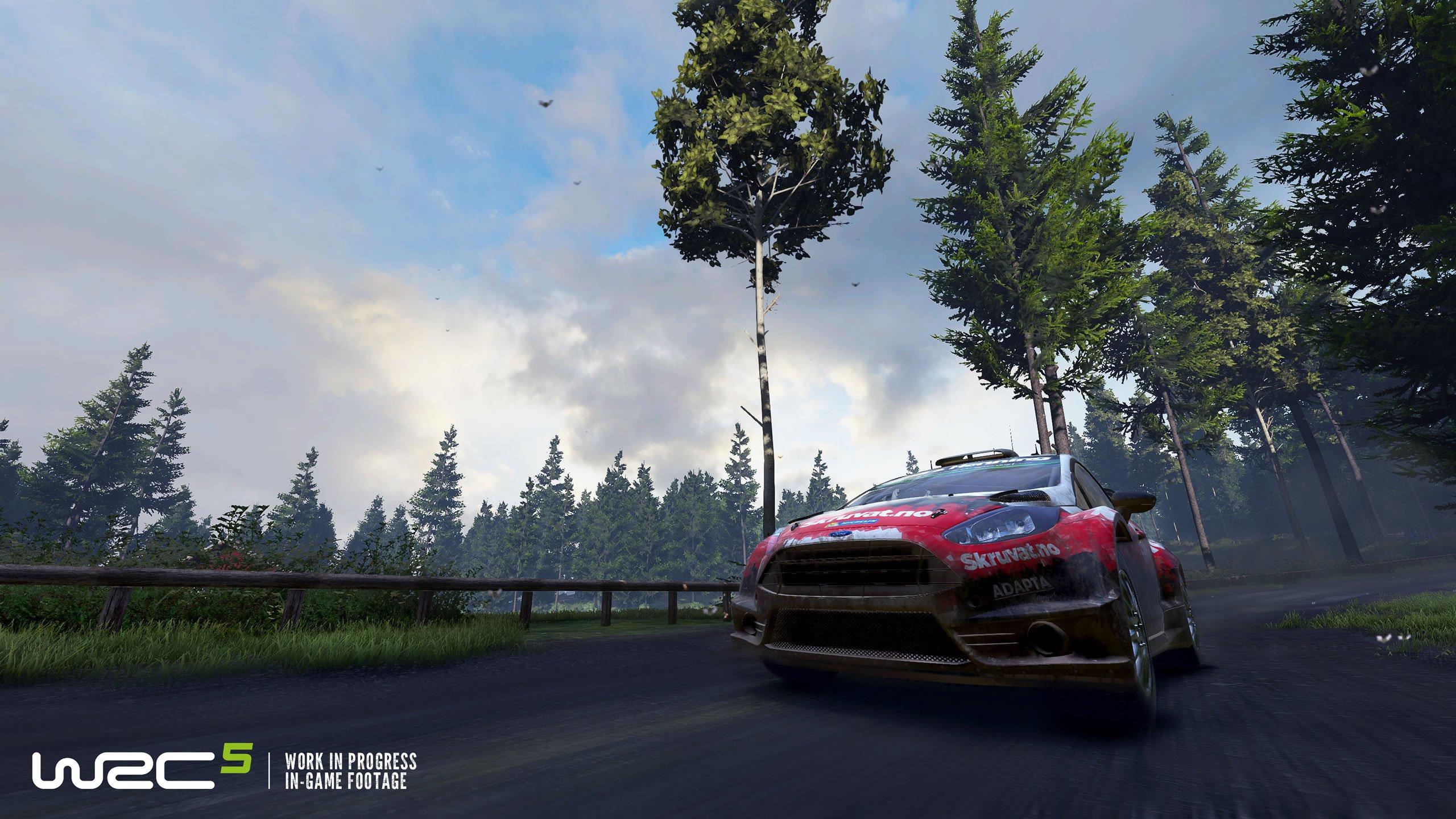 WRC 5 Announcement Trailer