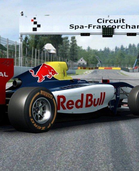 New Previews of Spa in RaceRoom