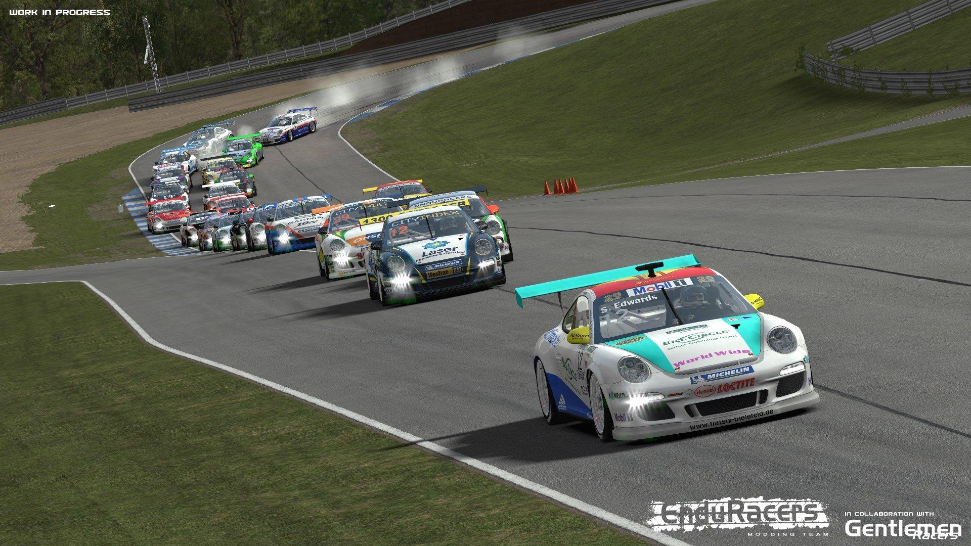 EnduRacers Preview Flat6 Mod for rFactor 2 - Inside Sim Racing