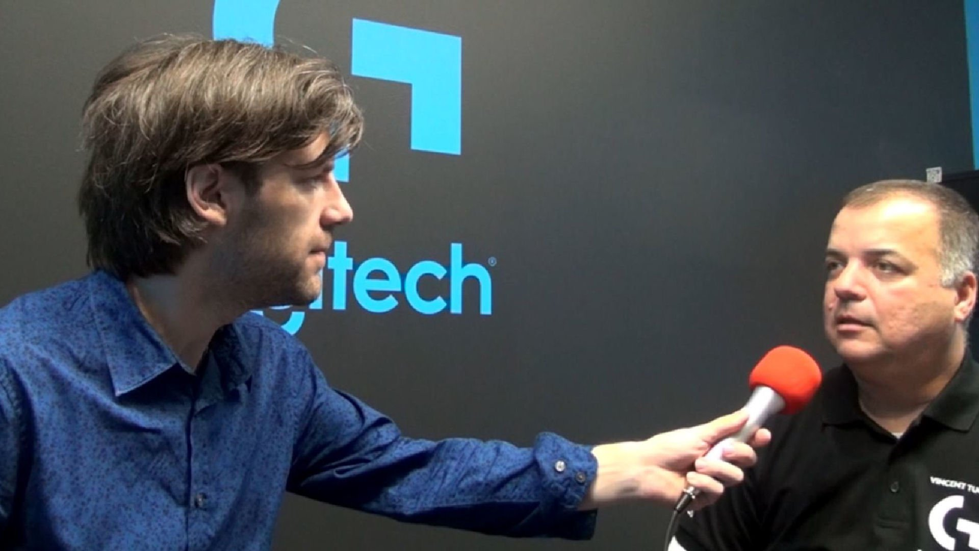 Gamescom 2015 Logitech Interview