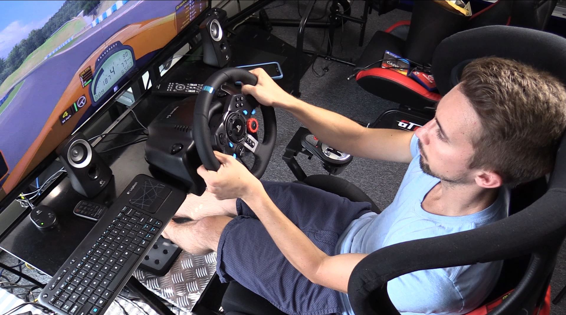 80518bc1a6f Logitech G29 steering wheel review | Inside Sim Racing