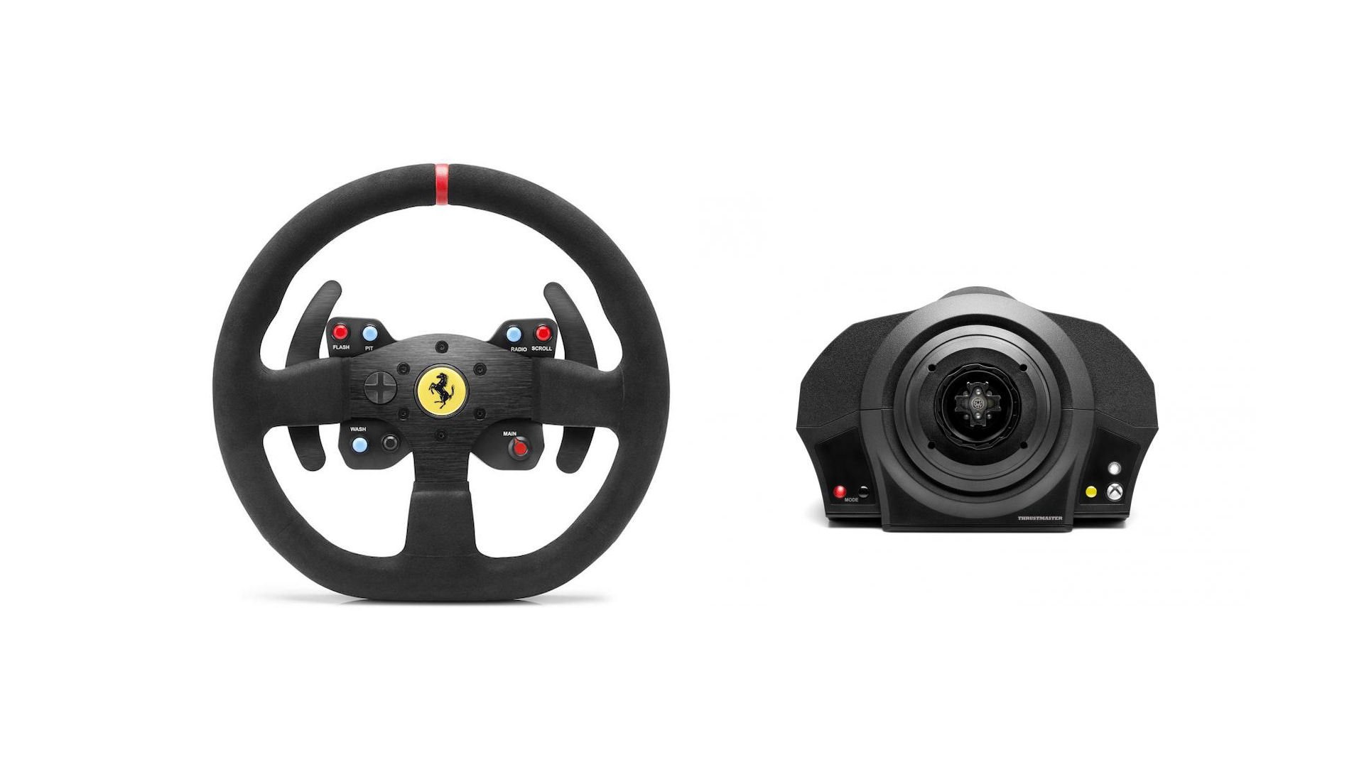 Thrustmaster Announces TX Servo Base & Alcantara Ferrari 599XX Rim