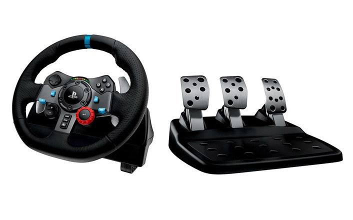 Logitech G29 steering wheel