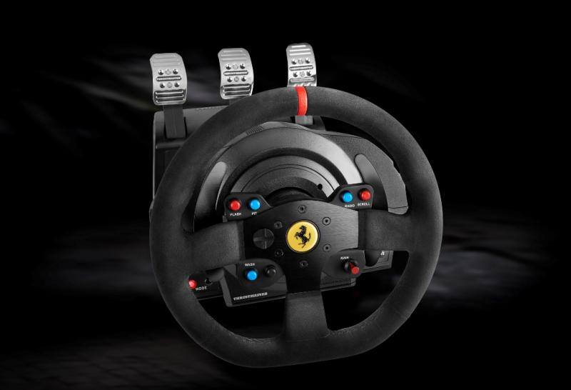 thrustmaster announces t300 ferrari integral racing wheel. Black Bedroom Furniture Sets. Home Design Ideas