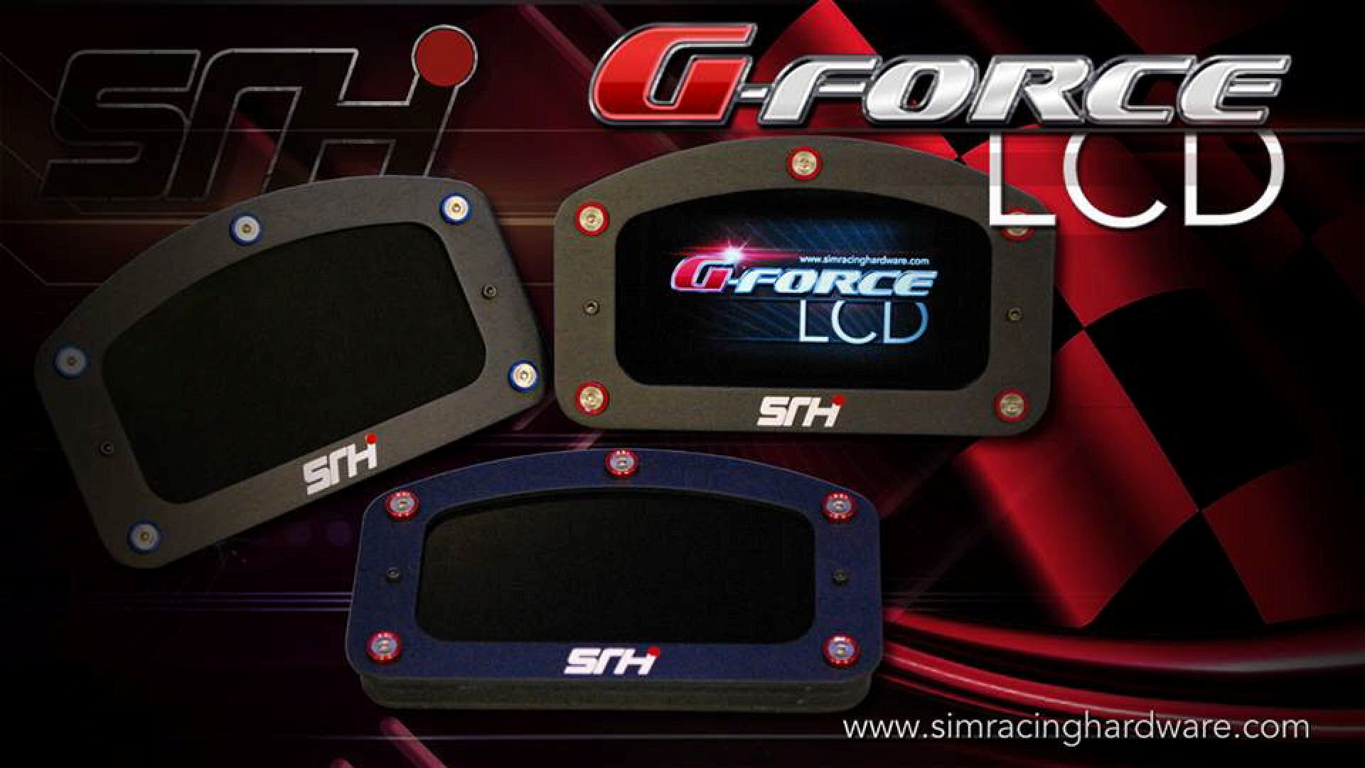 Sim Racing Hardware Release the G-Force LCD