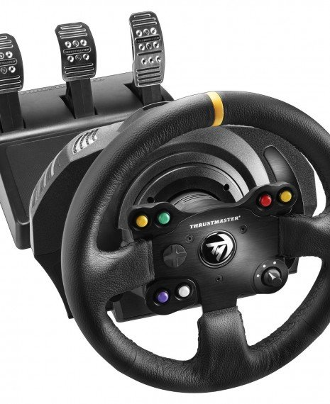 thrustmaster tx racing wheel leather edition announced. Black Bedroom Furniture Sets. Home Design Ideas