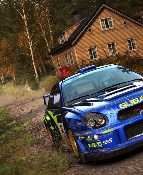 DiRT Rally Flying Finland Test Drive