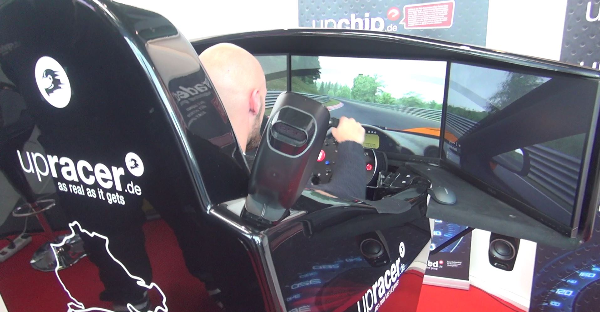 Three Motion Simulators from Sim Racing Expo 2015