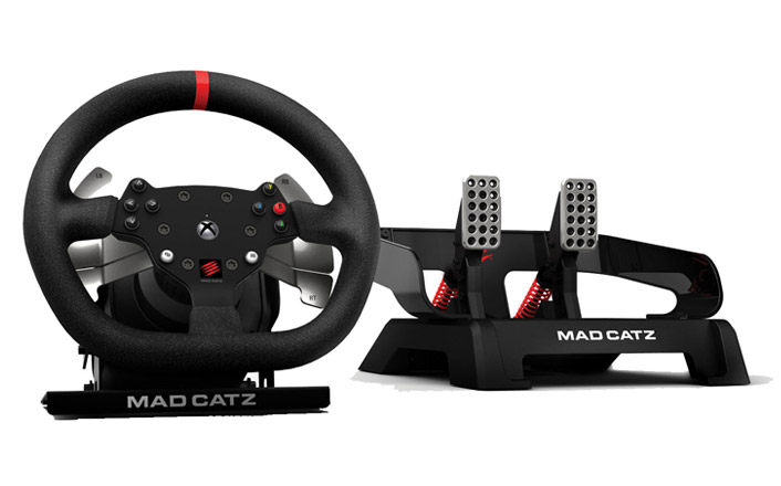 Mad Catz Pro Racing Force Feedback Wheel review