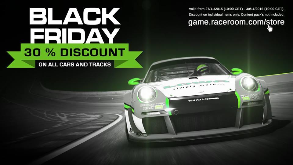 Black Friday Sim Racing Deals