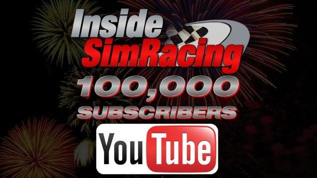 100k subs Inside Sim Racing