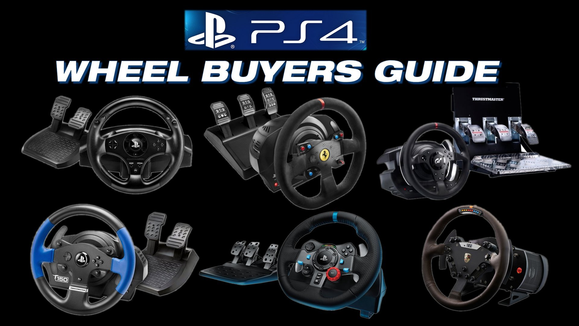 2016 Playstation 4 Steering Wheel Buyers Guide Inside