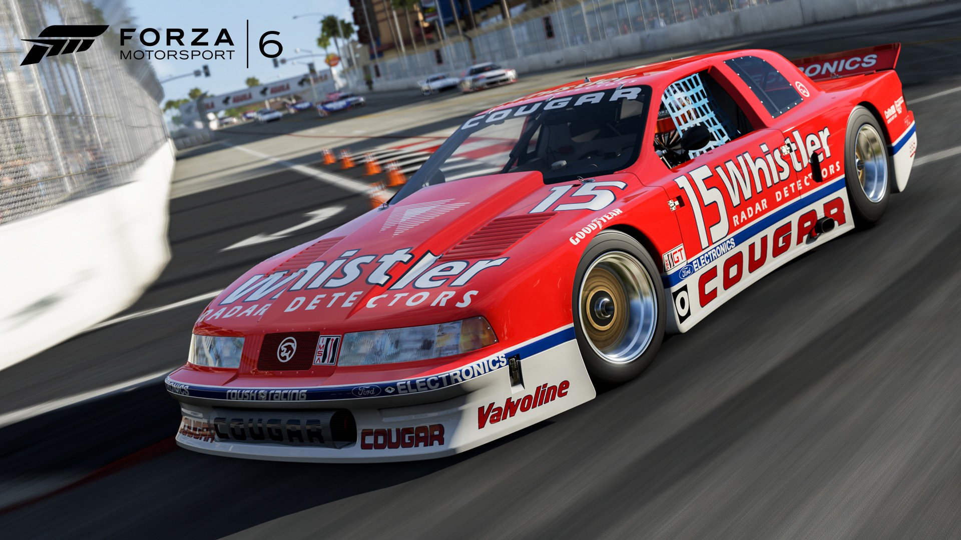 1990 Mercury #15 Whistler Radar Cougar XR-7 Forza Motorsport 6
