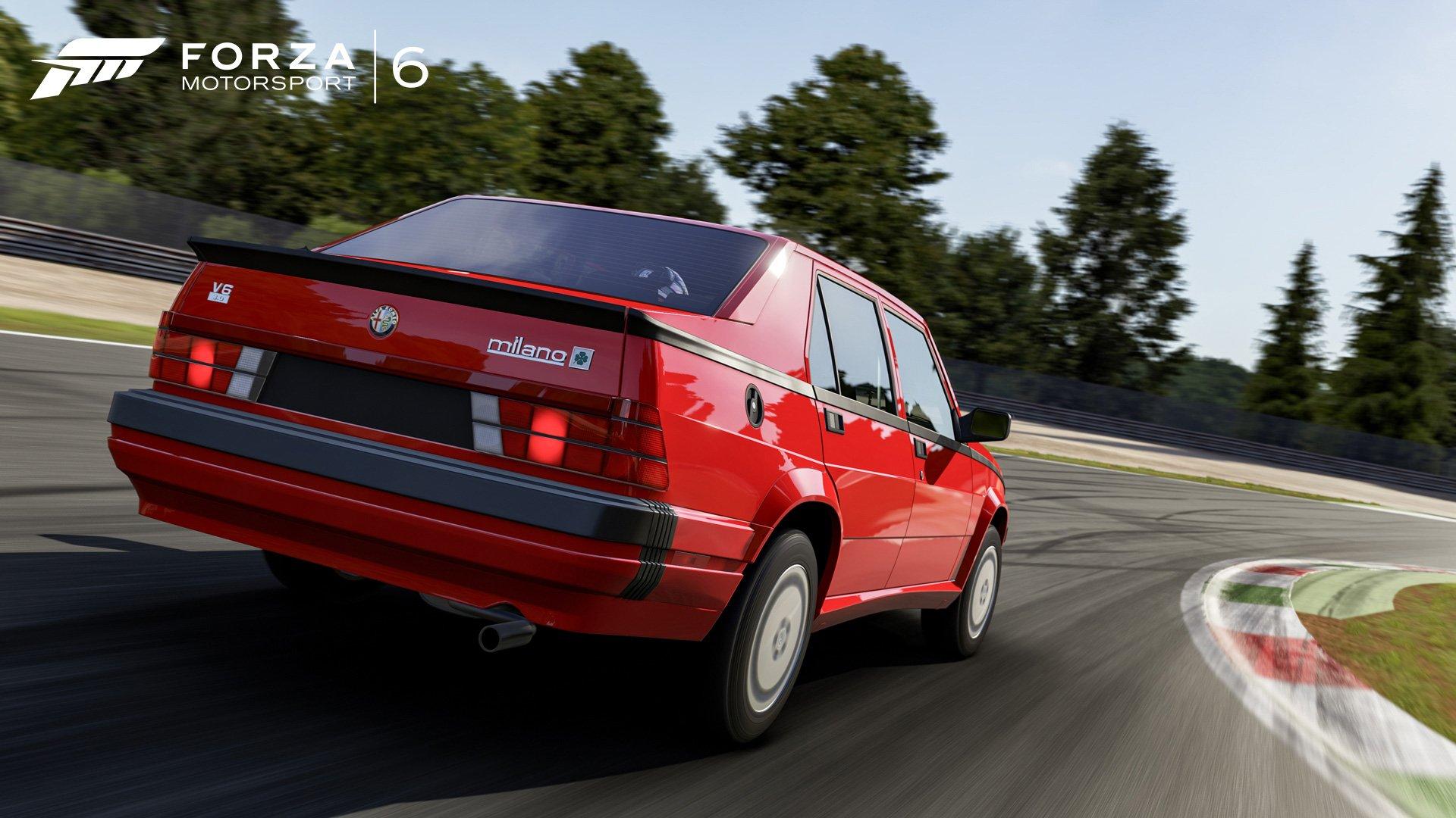 1992 Alfa Romeo Milano Quadrifoglio Verde Forza Motorsport 6