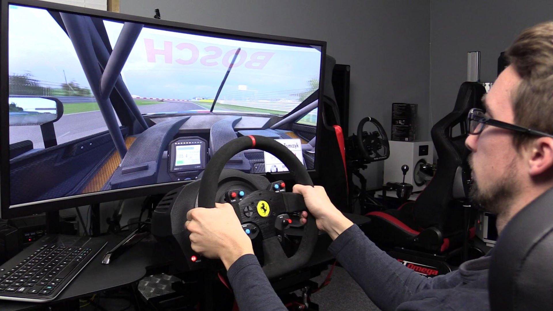 BenQ XR3501 Ultra Wide Sim Racing