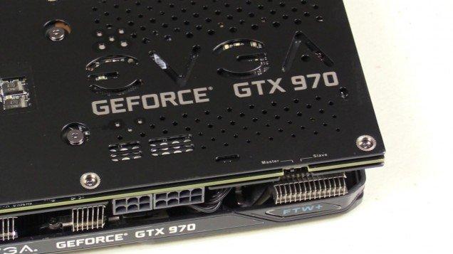 EVGA GTX 970 FTW+ Backplate