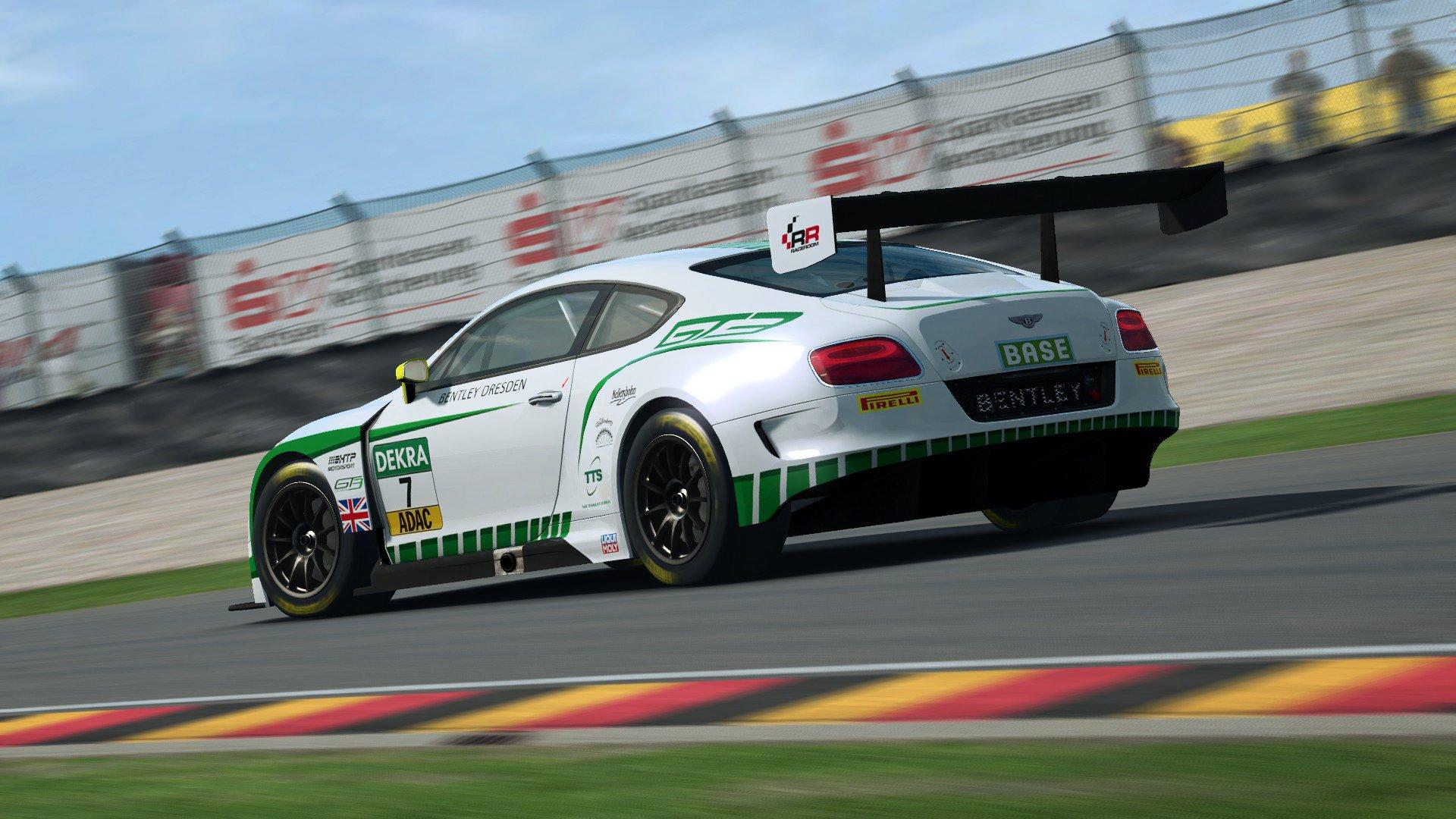 RaceRoom Bentley Continental GT3