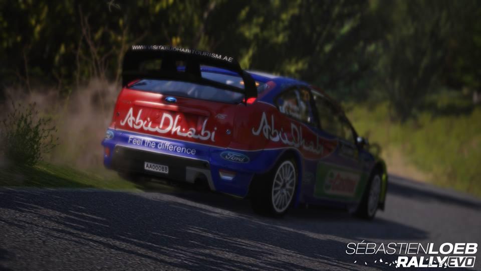 Sebastien Loeb Rally Evo Rallycross Pack Ford Focus RS09