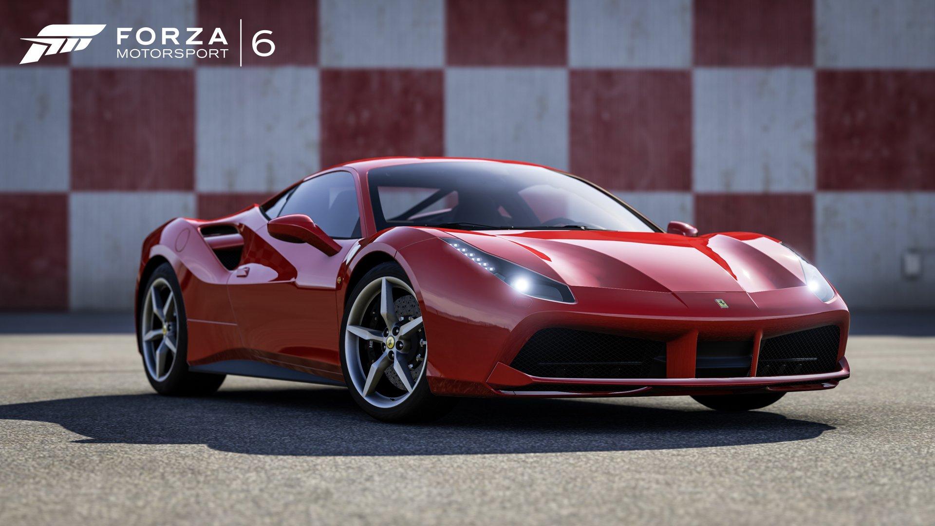Forza Motorsport 6 Ferrari 488 GTB