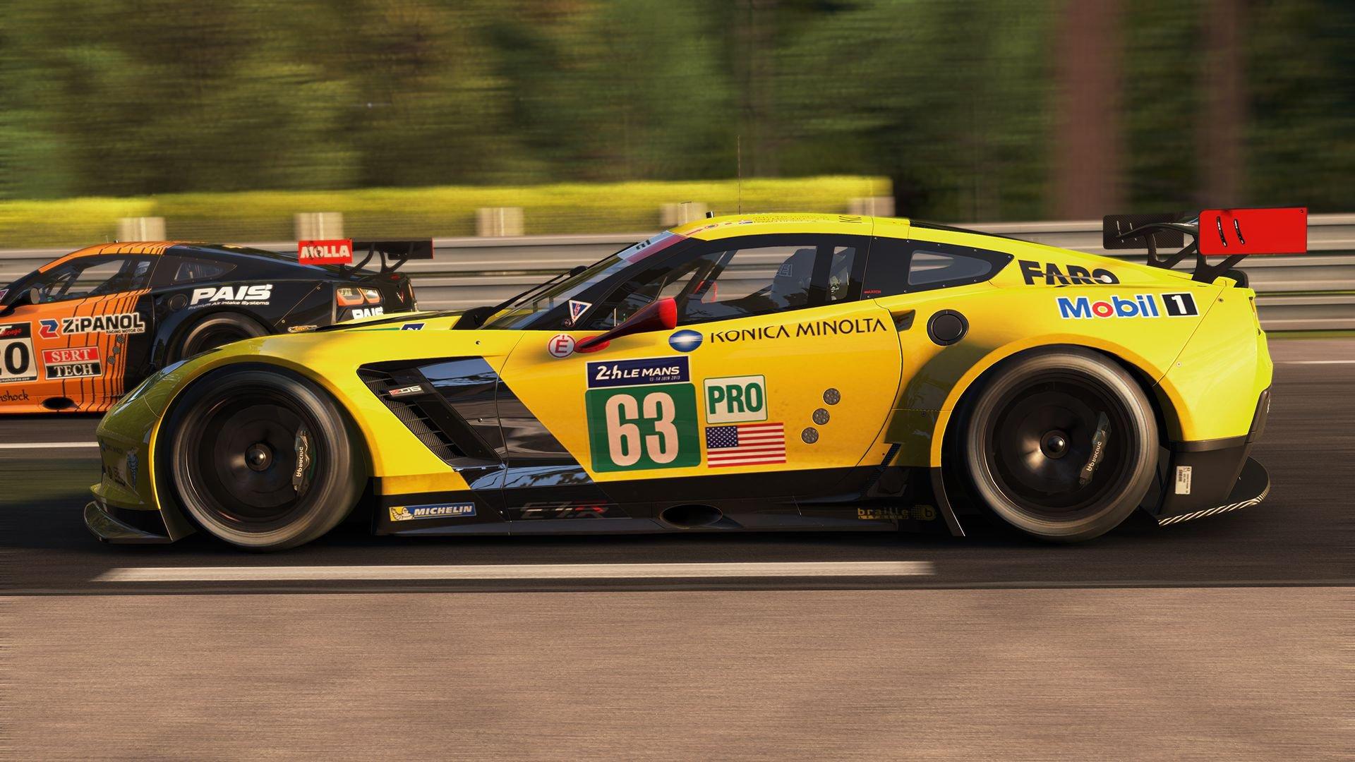 Project CARS Corvette C7.R GTLM