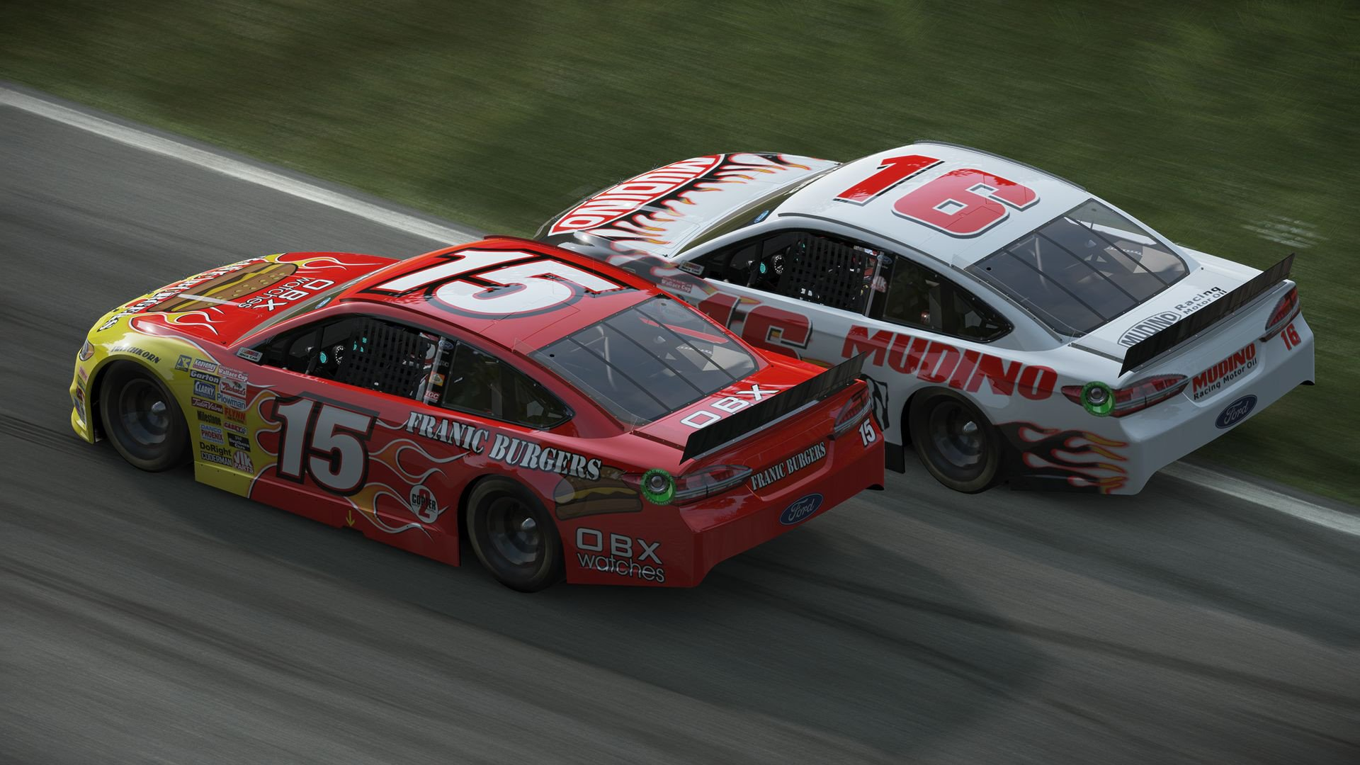 Project CARS Ford Fusion