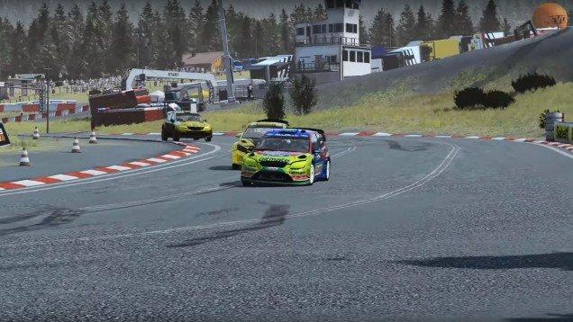 Sebastien Loeb Rally 09 Ford Focus RS Hell Norway