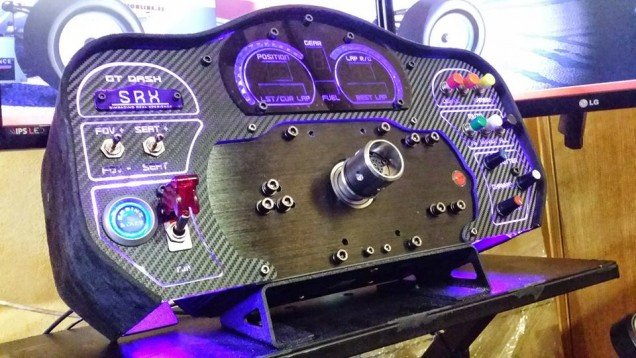 SRX GT Dash For Fanatec CSW Available For Pre-order! - Inside Sim Racing