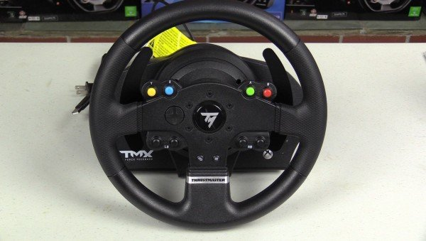 thrustmaster tmx force feedback racing wheel first look inside sim racing. Black Bedroom Furniture Sets. Home Design Ideas