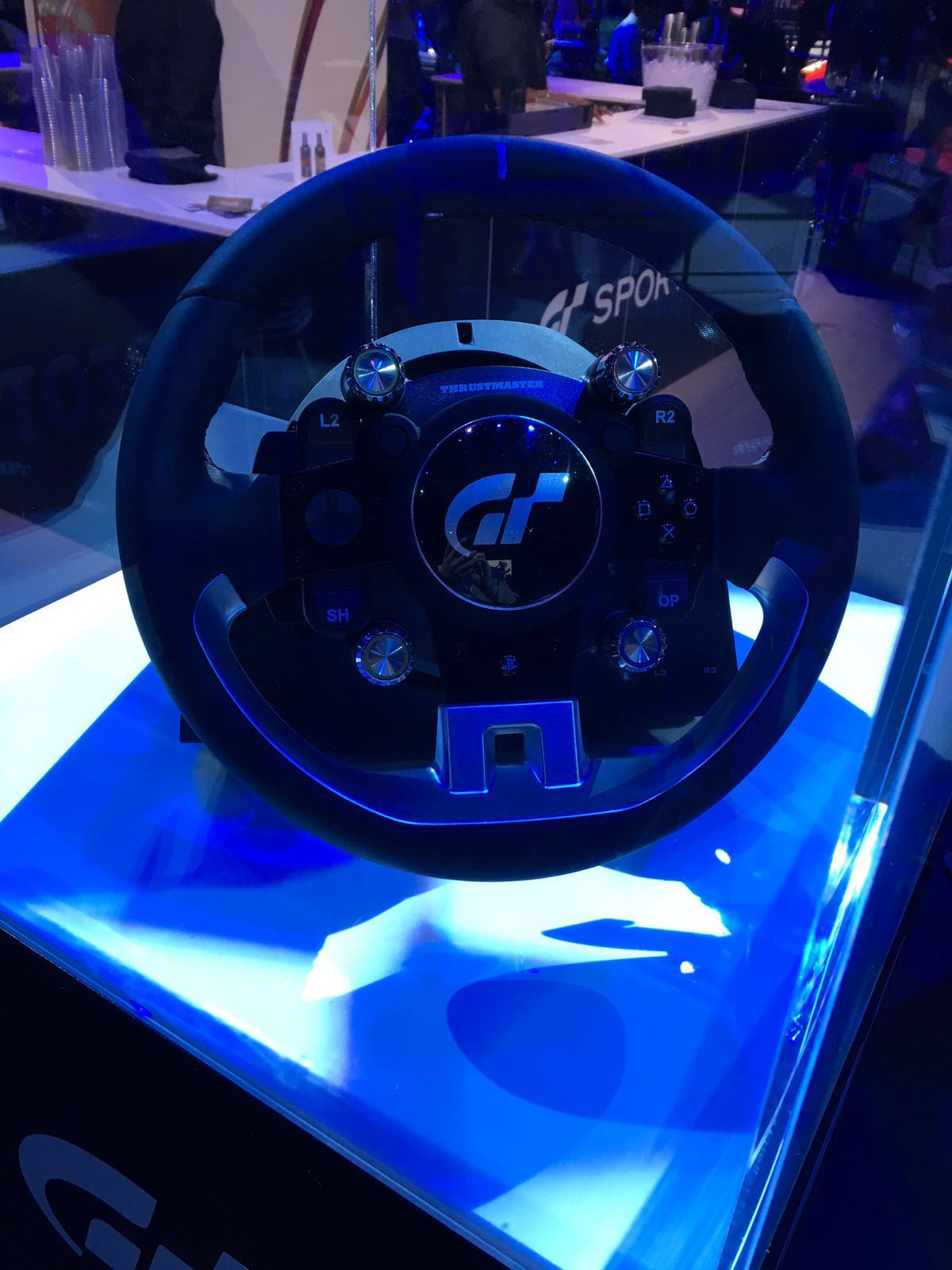P1 Racing Sport Rim >> First Images of New Gran Turismo Branded Thrustmaster Wheel - Inside Sim Racing