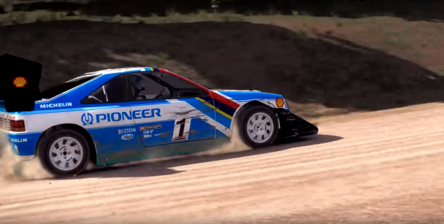 dirt rally pikes peak historic