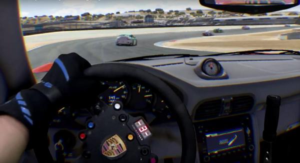 Mixed Reality RUF GT3 Race Around Laguna Seca