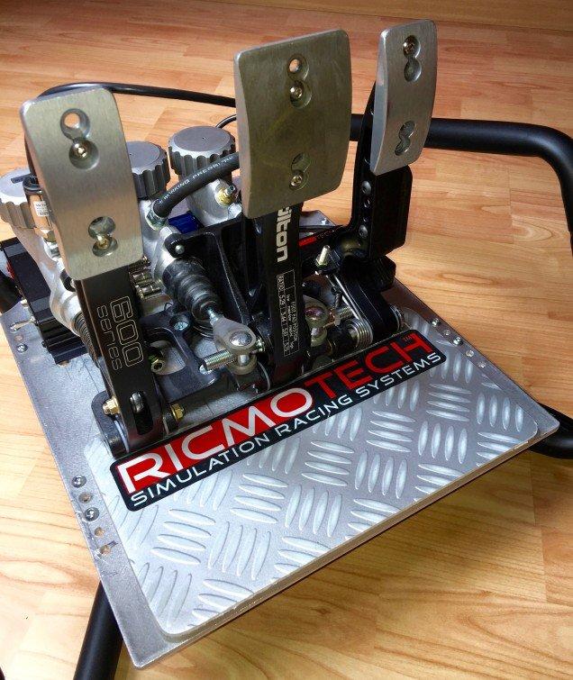 Ricmotech GTPro3 Xtreme Tilton Real Gear Pedal Set Review ...