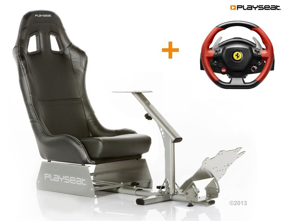 Buy now Thrustmaster 458 Spider seat bundle