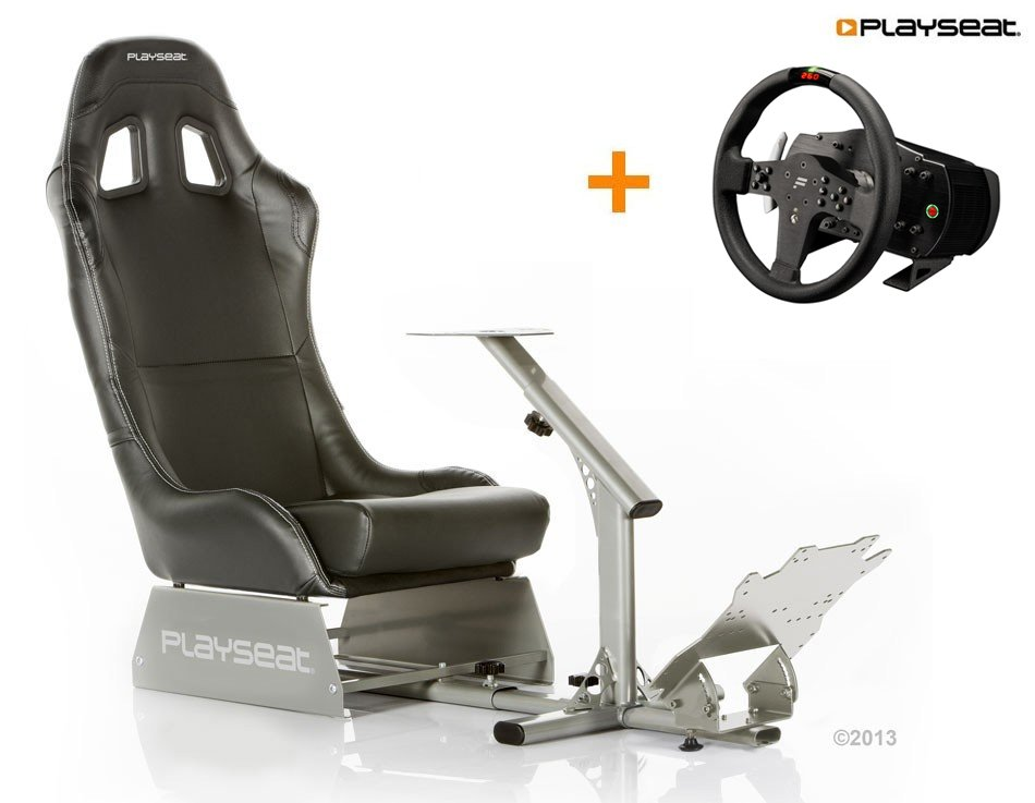 Buy now Fanatec CSW V2 seat bundle