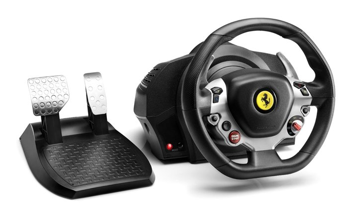 Thrustmaster TX 458 Italia steering wheel