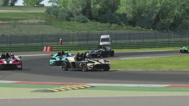 Assetto Corsa PS4 Test Drive - Career Novice Series 3 with KTM X Bow R