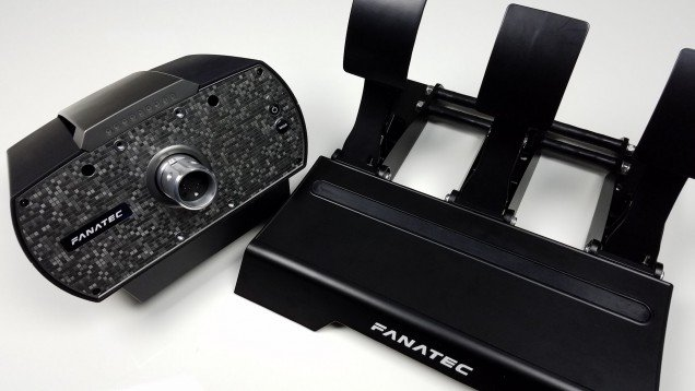 Fanatec CSL Elite Wheel and Pedals First Look