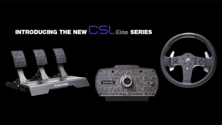 Fanatec CSL Wheelbase and Pedals