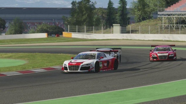 assetto corsa ps4 pre-release first look and test drive audi r8 gt3