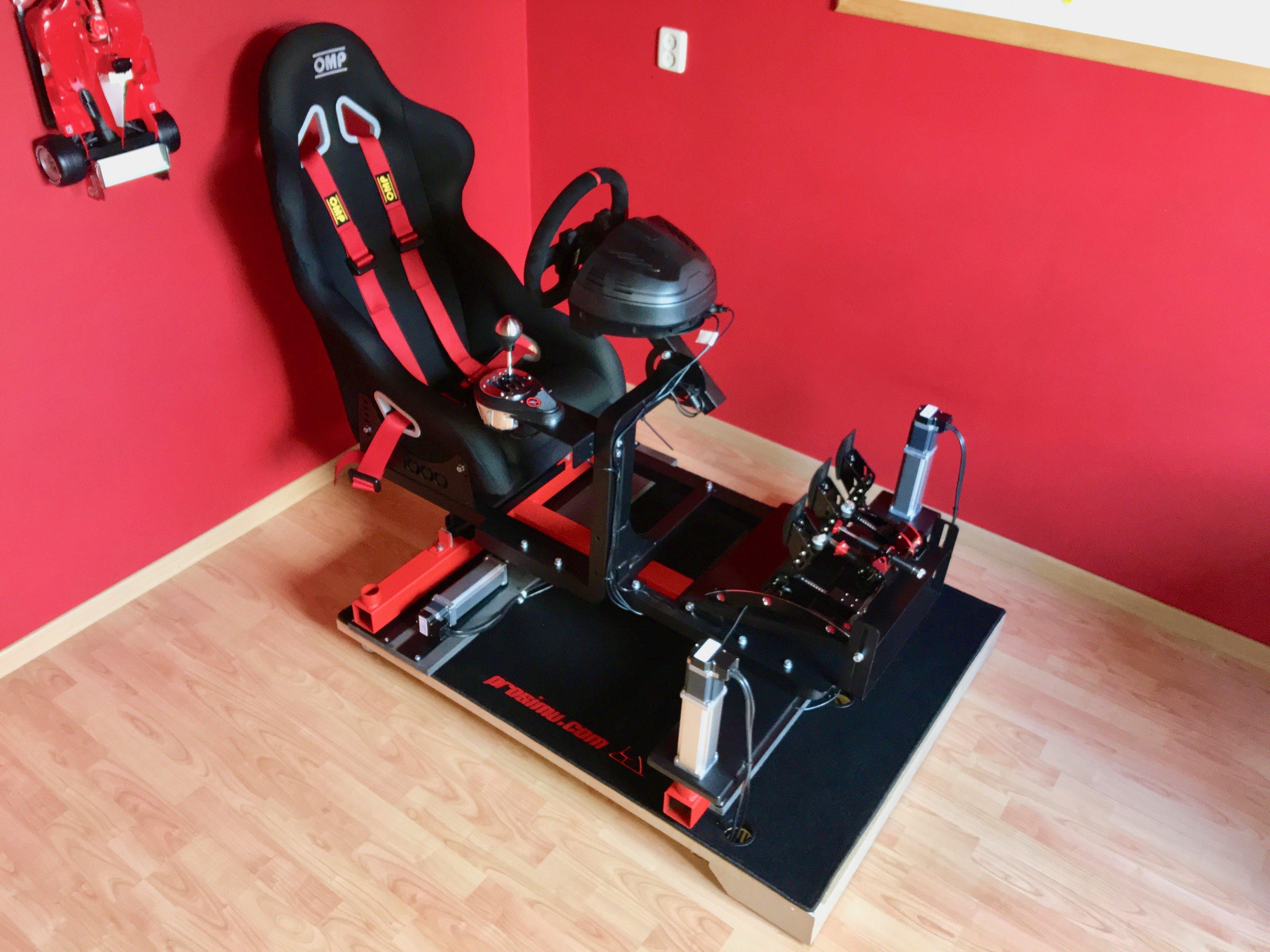Review Prosimu T1000 3dof Motion Simulator Inside Sim