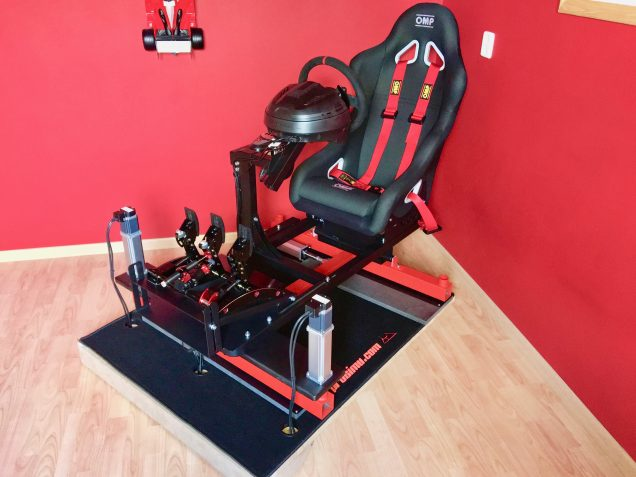 Review Prosimu T1000 3dof Motion Simulator Inside Sim