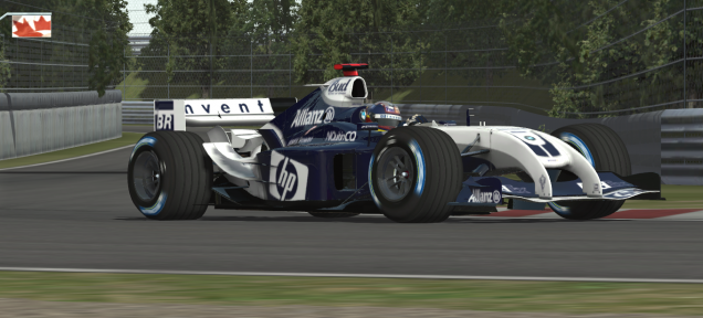 MAK-Corp - Williams FW26 rFactor2 Mod Update - Inside Sim Racing