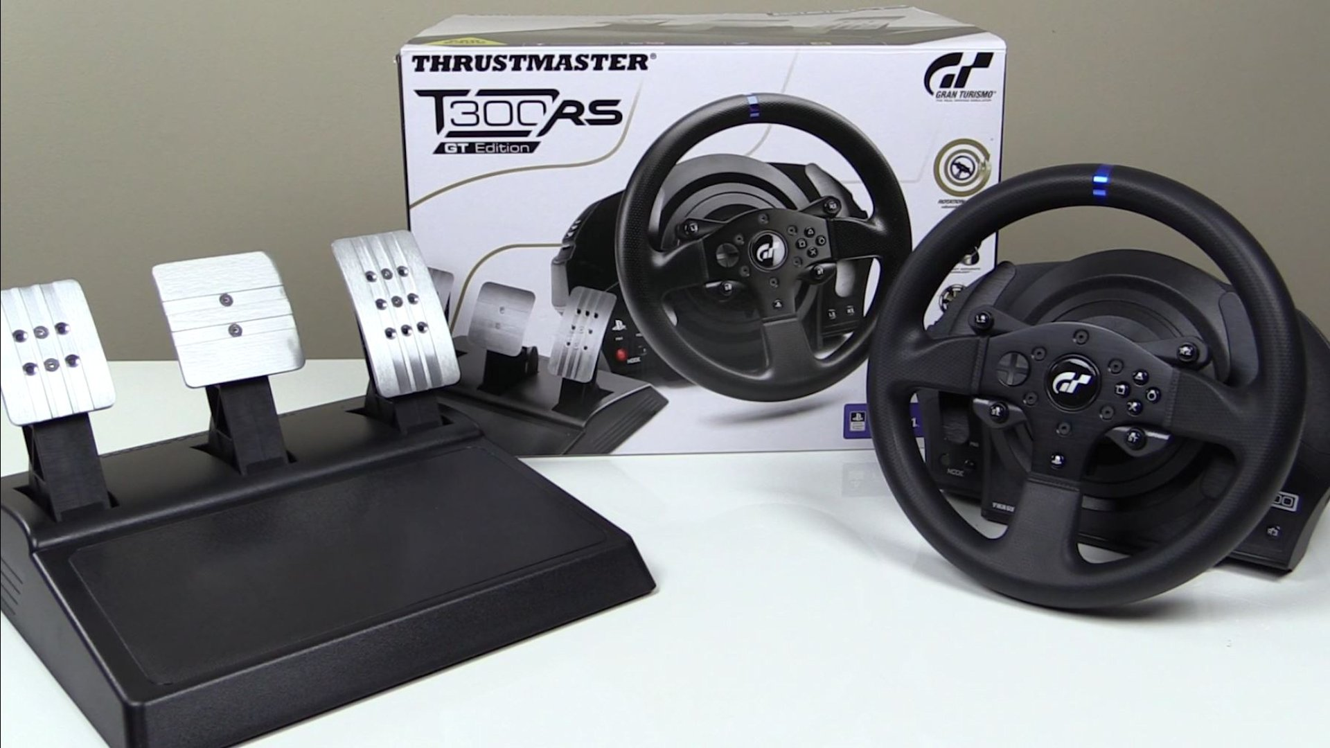 Thrustmaster T300 Gt Edition Racing Wheel And Pedals
